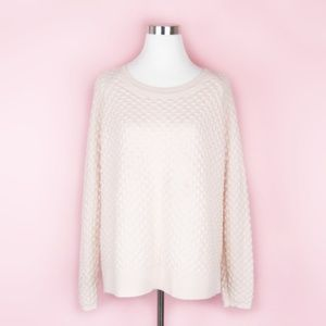 French Connection Oversized Pink Sweater